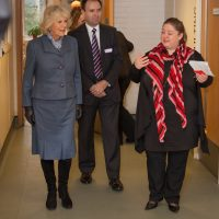 HRH Duchess of Cornwall being introduced to the centre