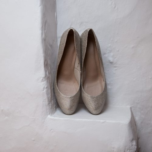 tan gold wedding shoes