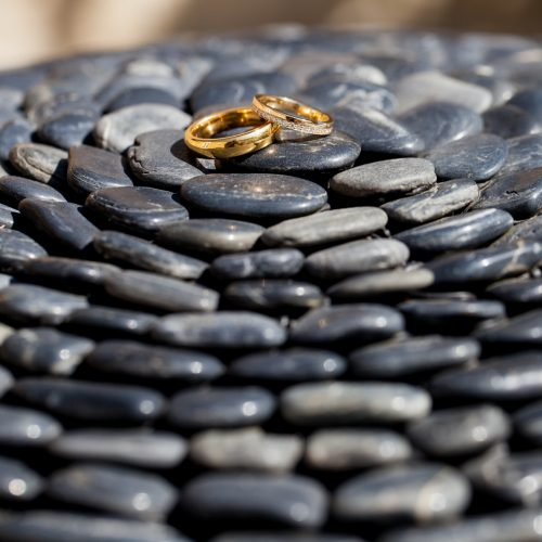 rings on stones