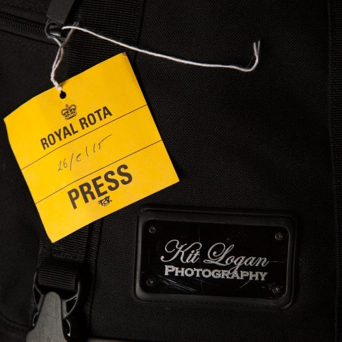 Royal Rota press badge